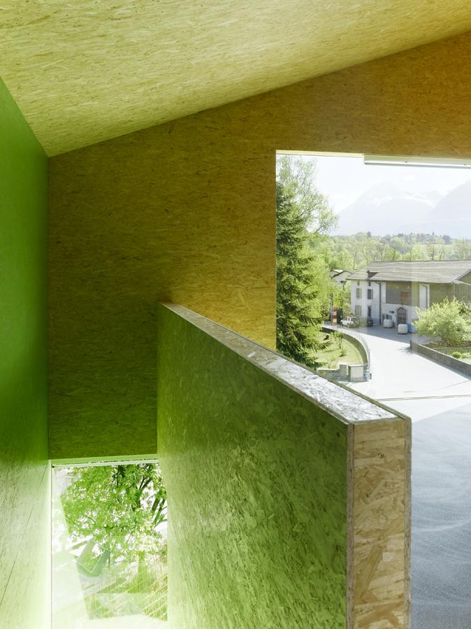 Maison Favre Bex by Bonnard Woeffray Architectes