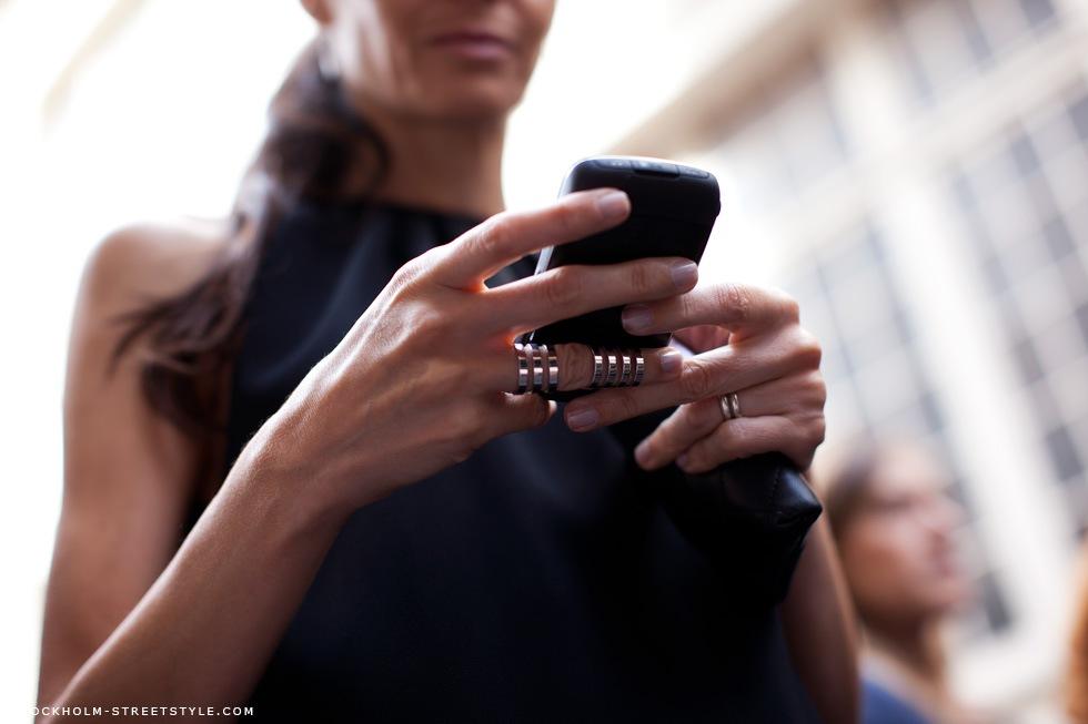 Модные кольца на фаланге фото 1